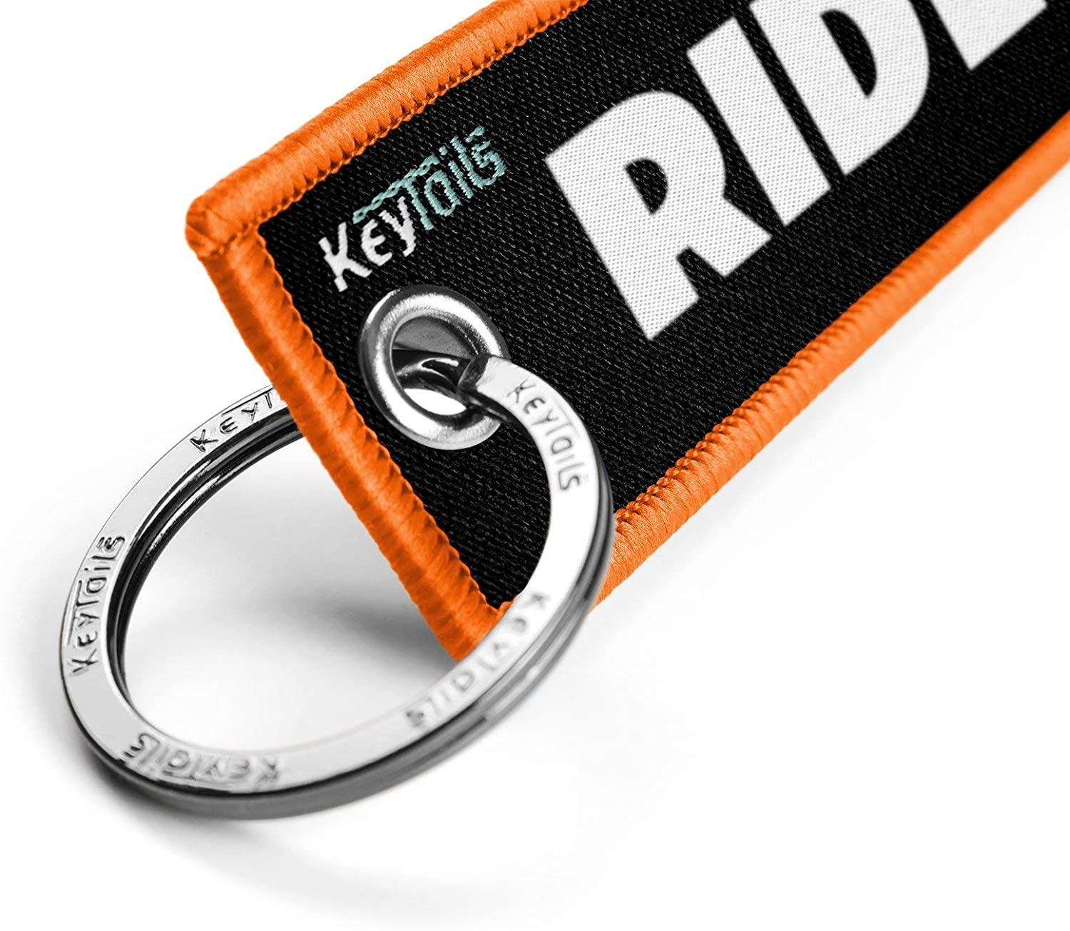 Scooter Premium Quality Key Tag for Motorcycle UTV ATV KEYTAILS Keychains Ride Or Die