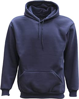 Zmart Adult Unisex Men's Plain Basic Pullover Hoodie Sweater Sweatshirt Jumper XS-5XL