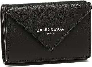 [バレンシアガ] 折財布 レディース BALENCIAGA 391446 DLQ0N 1000 ブラック [並行輸入品]