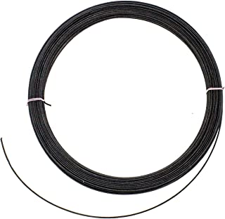 19g Cotton Covered Millinery Wire Standard Firm Black- 60 Yards