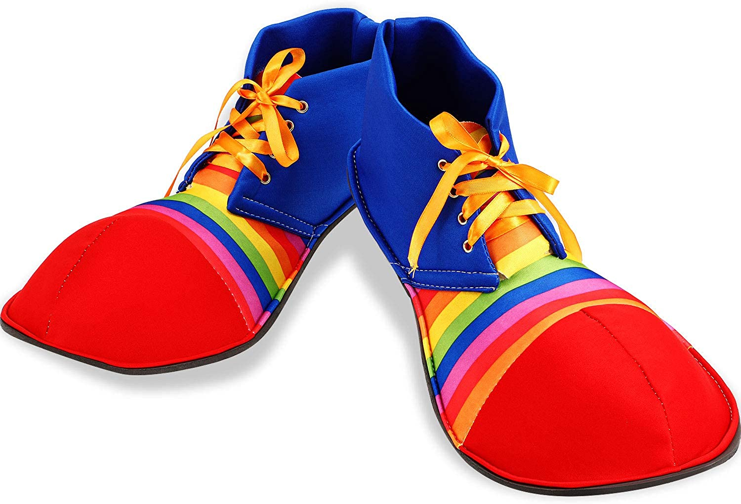 Unisex Clown Shoes Rainbow Costumes Dots Halloween Accessories New Luxury life