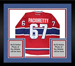 Framed Max Pacioretty Montreal Canadiens Signed Reebok Premier Hockey Jersey (AJ Sports) - Steiner Sports Certified