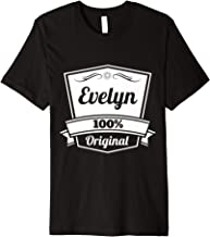 Evelyn Gift / Evelyn Personalized Name Birthday Premium T-Shirt