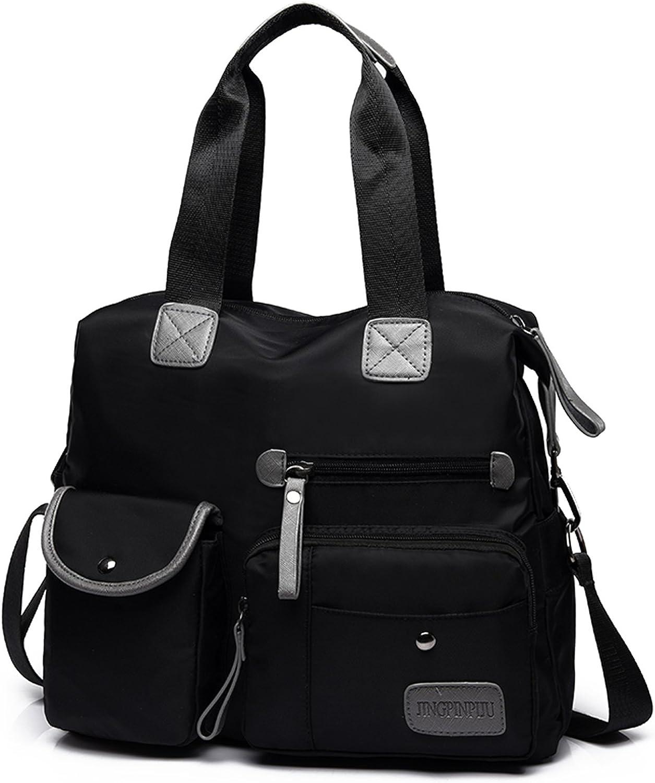 Water Repellent Nylon Shoulder Bag Handbag IPAD Notebook Briefcase Travel Work Tote Bag School Bag