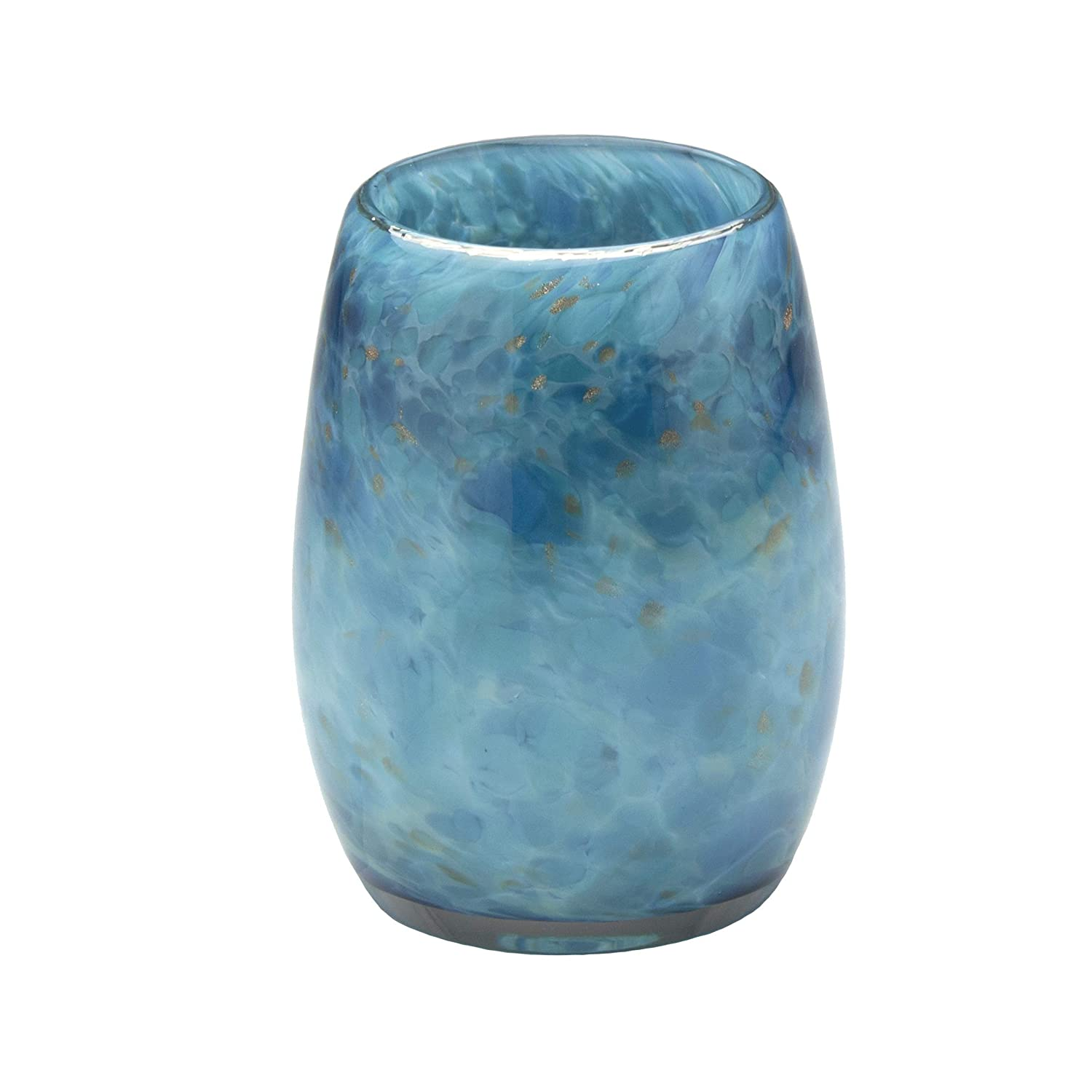 Votive Max 57% OFF Ranking TOP2 Candle Holder. Hand Blown Glass Sound Teal.
