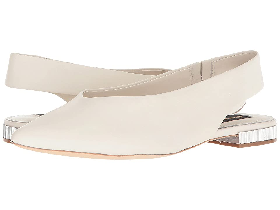 Donna Karan Paige Sling Back (Off-White) Women