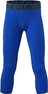 Boy's Compression Capri Shorts Baselayer Cool Dry Sports Tights