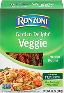 Ronzoni Garden Delight Rotini, 12-Ounce