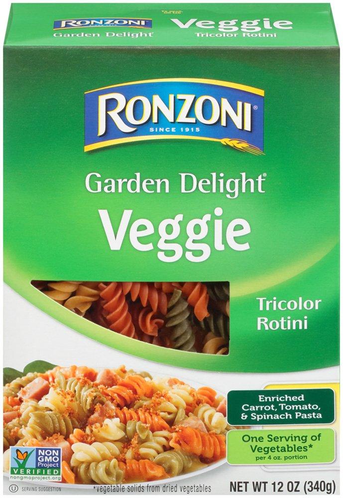 trend rank Ronzoni Garden Delight 12-Ounce Rotini Nashville-Davidson Mall