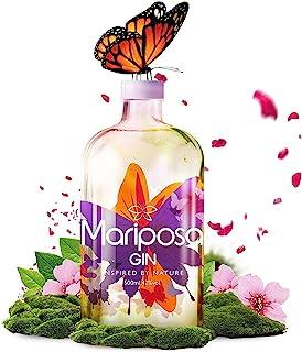 MARIPOSA GIN - Gin Inspired by Nature I Fruchtiger Gin mit Wacholder & Beeren & weiteren Fruchtnoten I handverlesene Zutaten I Sanfter Gin I Premium Gin I 500ml