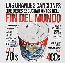 Las Grandes Canciones Que Debes Escuchar Antes Del Fin Del Mundo Vol 1 70's (4cd's) Varios Artista