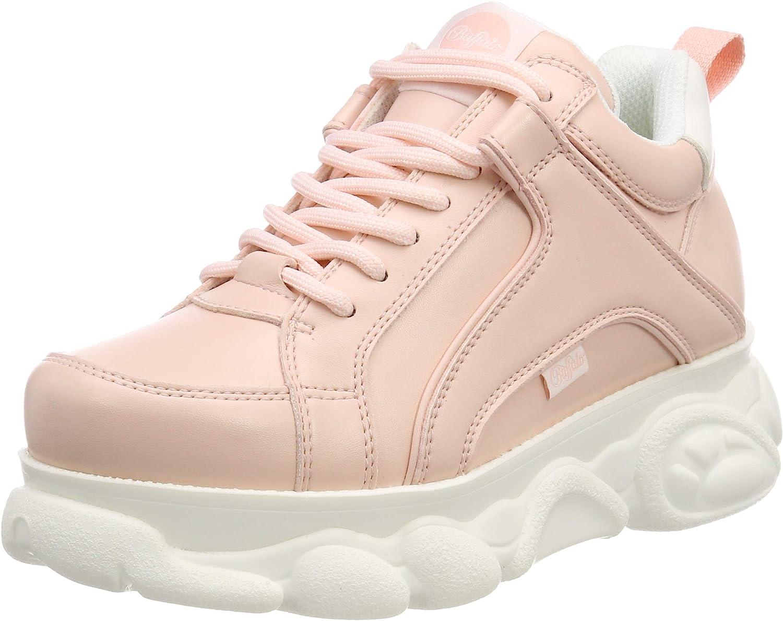 Buffalo Women's Corin Low-Top Sneakers, (Pink 000), 4.5 UK