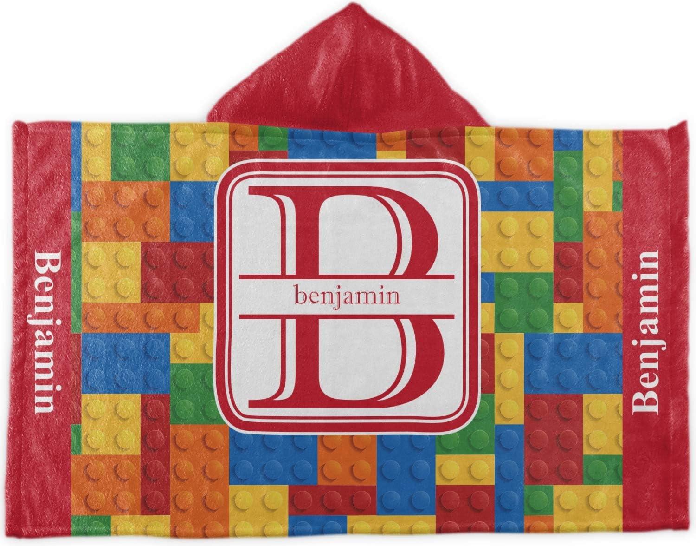 Regular discount Japan Maker New YouCustomizeIt Building Blocks Kids Towel Personalized Hooded