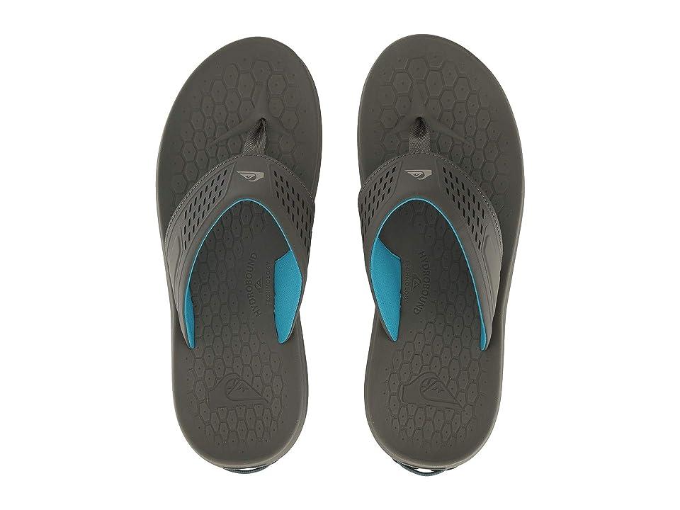Quiksilver Layover Travel Sandal (Grey/Grey/Blue) Men
