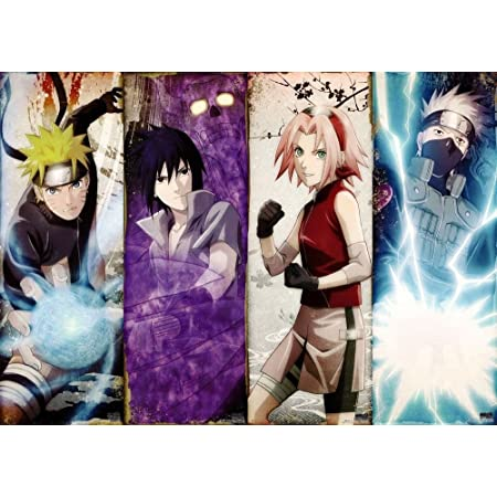 Naruto Japanese Anime Silk Canvas Poster Wall Home Decor Print 24x36 inch