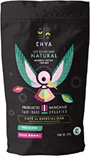 Ehya Café Orgánico descafeinado natural, molido regular