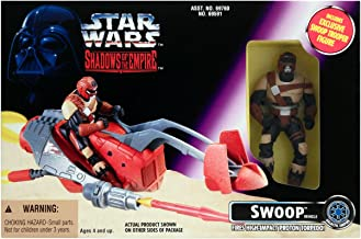 Star Wars Shadows of the Empire Swoop Vehicle with Swoop Trooper Action Figure by Kenner