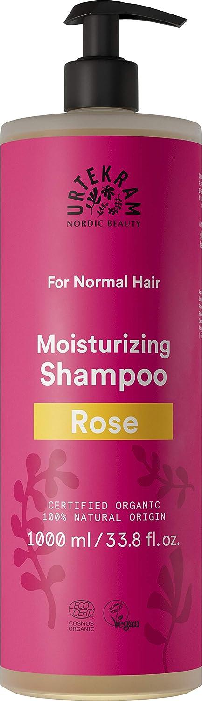 Urtekram Rose Shampoo Bio 1000 ml Haar normales Max 65% OFF New York Mall