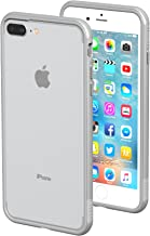 iPhone 7 Plus/8 Plus Case - ThanoTech K11 Bumper - Lightweight Aluminum TPU - Matches Your Phone Seamlessly - Slim, Durable, and Shockproof Protection - Silver