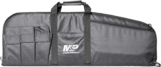 M&P by Smith & Wesson  Duty Series Gun Case Padded Tactical Rifle Bag for Hunting Shooting Range Sports Storage and Transport