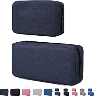 Travel Electronics Cable Organizer Bag Accessories Bag,Canvas Waterproof Universal Electronics/Accessories Multifunction C...