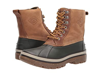 Sperry Ice Bay Boot (Olive/Tan) Men