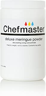 Chefmaster Deluxe Meringue Powder for Baking & Decorating, Certified Kosher Meringue Powder for Buttercream, Royal Icing, Meringue Toppings, and more! 20 oz. Ready to Use Meringue Mix