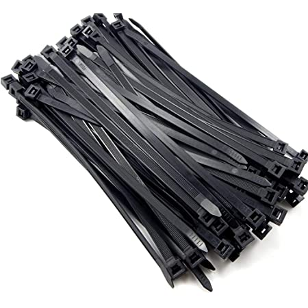 Nylon Ties for fastening harness wires cables 290x4,5mm Pack 100 pcs