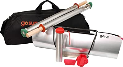GOSUN Sport Pro Pack, Portable Solar Oven Ultimate Sport Bundle Package | Off Grid Camping Kitchen With Solar Cooker Camp Stove & Camping Cookware Accessories Package | Fastest Outdoor Oven Sun Grill