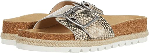 Natural Multi Embossed Leather