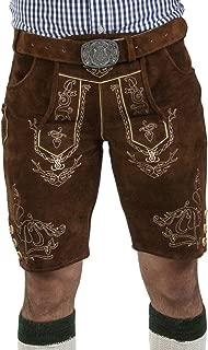 Sale - Bavarian Lederhosen Wiesnjäger - Oktoberfest Leather Trousers incl. Trachten Belt
