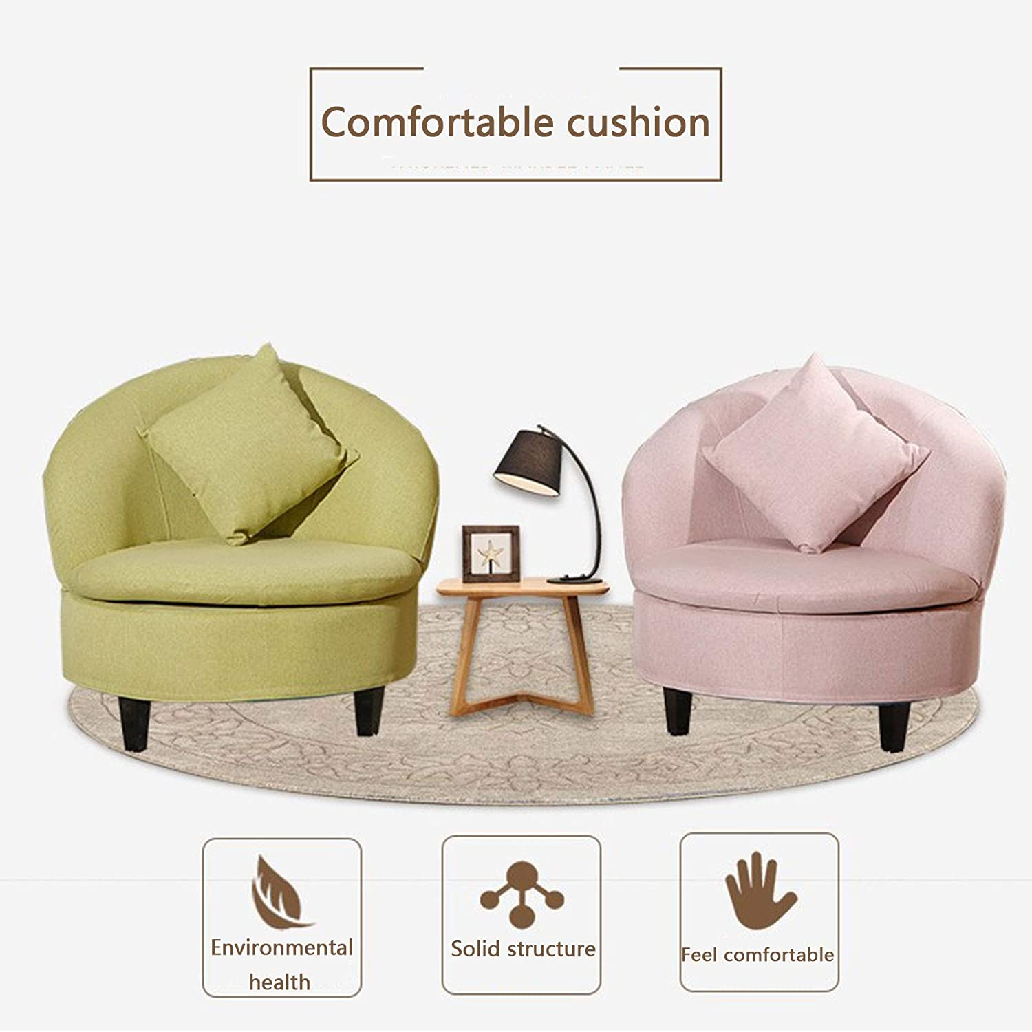 BMNN Fauteuil Repose Pieds Fauteuil Inclinable Et Repose-Pieds Fauteuil Relax Inclinable Style Contemporain Chaise Longue Cuir de (Color : Pink) Maroon