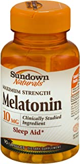 Sundown Naturals Dietary Supplement Melatonin 10mg - 90 CT