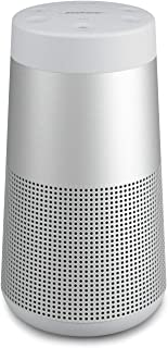 Bose SoundLink Revolve (Serie II) Bluetooth-högtalare - Bärbar, vattenavvisande trådlös högtalare med 360° ljud, silver
