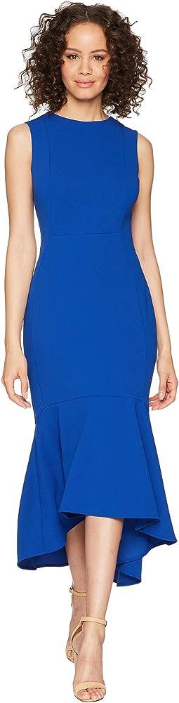 Calvin Klein Ruffle Bottom Midi Dress CD8C15BJ