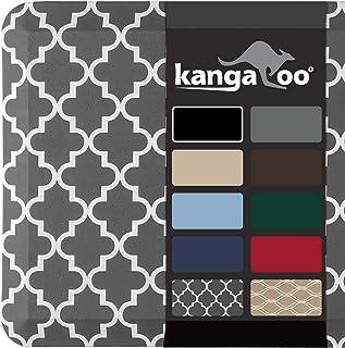 "KANGAROO BRANDS Original 3/4"" Anti-Fatigue Comfort Standing Mat Kitchen Rug, Phthalate Free Mats, Non-Toxic, Waterproof, F..."