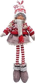 iGnome Handmade Christmas Gnome Decoration Girl and Boy Santa Tomte Swedish Figurines - 19 Inches (Girl)
