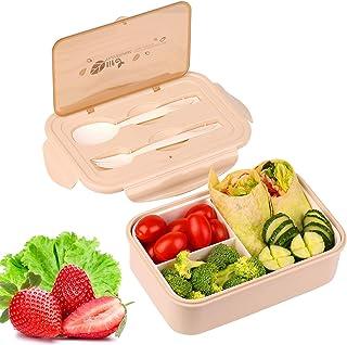 KATELUO Caja Bento Lunch Box Fiambrera Bento 1400 ml 3