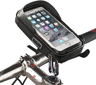 Zacro - Porta cellulare per bicicletta/moto a forma di custodia