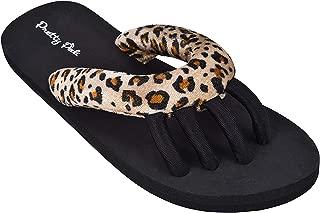 Pretty Pedi Super Light Brand Pedicure Sandals for Women with Toe Separator