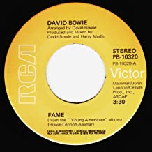 DAVID BOWIE 45 RPM Right / Fame