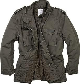Men's Paratrooper Winter Jacket Olive Washed