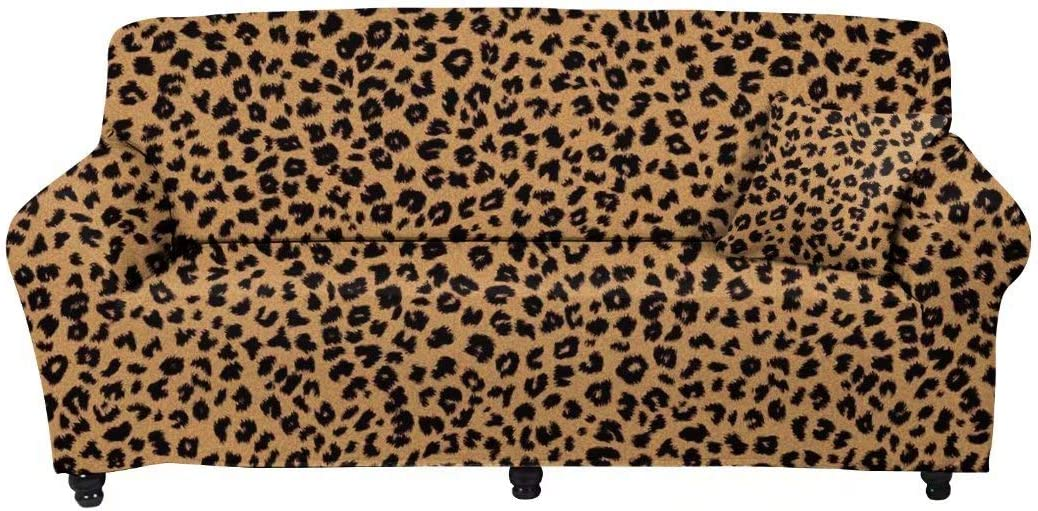 Youngerbaby Leopard Print Stretch Ranking TOP18 Sofa Slipcover C Non Slip Soft Ranking TOP10
