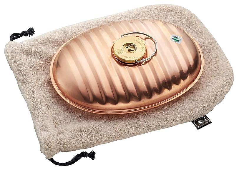 レコーダー貸し手聖域マルカ 湯たんぽ 純銅 2.2L 袋付 (本体:日本製) CF-22