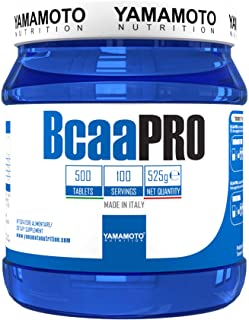 Yamamoto Nutrition BCAA Pro Kyowa Suplemento Alimenticio - 500 Tabletas