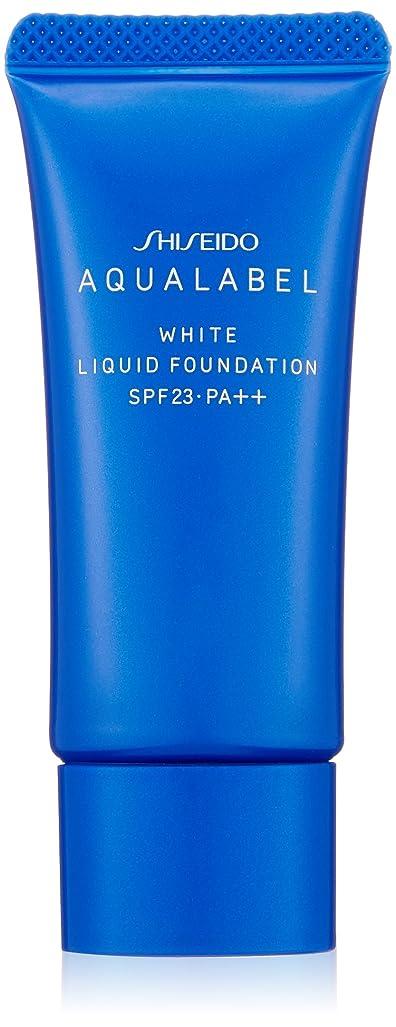 うめき現代の浸漬アクアレーベル 美白リキッド オークル10 (SPF23?PA++) 25g