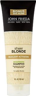 John Frieda sheer blonde Highlight Activating Enhancing Shampoo For Lighter Blondes 8.45 oz
