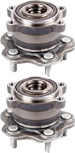 ECCPP Wheel Hub and Bearing Assembly Rear 512388 fit 2007-2016 Nissan Altima Infiniti JX35 RVR Replacement for 5 Lugs Wheel Hubs 2 pcs