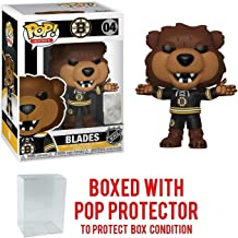 POP! Sports NHL Mascots Blades Boston Bruins Action Figure (Bundled with Pop Shield Protector to Protect Display Box)