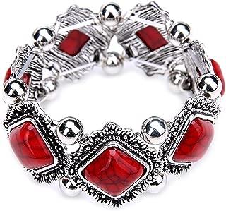 Bohemia Fashion Turquoise Bracelet Bangle Charm Jewelry for Women's Gift